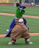 The Philly Phanatic, Patriotic edition